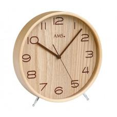 Designové stolové hodiny 5118 AMS, rádiom riadené 22cm