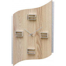 Dizajnové nástenné hodiny AMS 9613, 40 cm