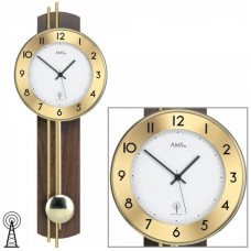 Kyvadlové hodiny 5266/1 AMS riadené rádiovým signálom 62cm