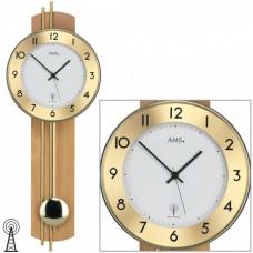 Kyvadlové hodiny 5266/18 AMS riadené rádiovým signálom 62cm