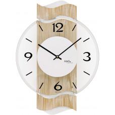 Dizajnové nástenné hodiny AMS 9621, 39 cm
