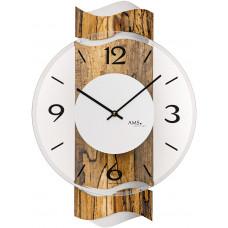 Dizajnové nástenné hodiny AMS 9622, 39 cm