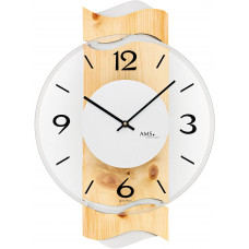 Dizajnové nástenné hodiny AMS 9623, 39 cm
