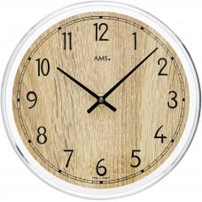 Dizajnové nástenné hodiny AMS 9631, 23 cm