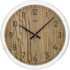 Dizajnové nástenné hodiny AMS 9632, 23 cm