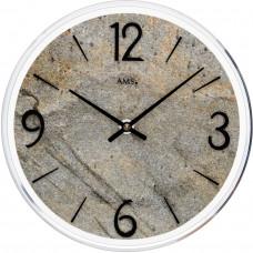 Dizajnové nástenné hodiny AMS 9633, 23 cm