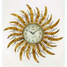 Dizajnové nástenné hodiny AMS 9639, 70 cm