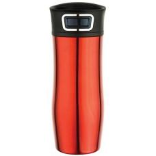 ASOBU cestovná termoska Press Caffe red 420ml