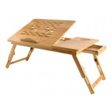 Stolík na notebook do postele Bamboo veľký, Isot7974