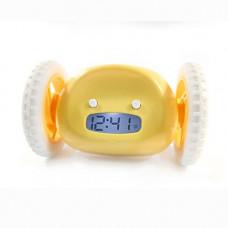 Clocky, utekajúci budík - žltý