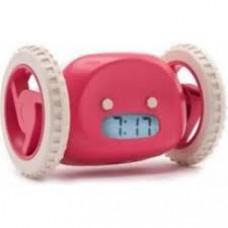 Clocky, utekajúci budík - ružový