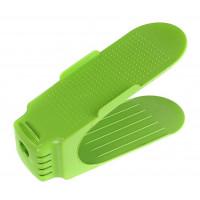 Plastový organizér na topánky 7A7t2, zelený