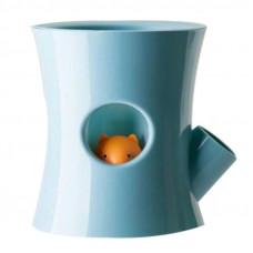 Samozavlažovací kvetináč B2, modrý