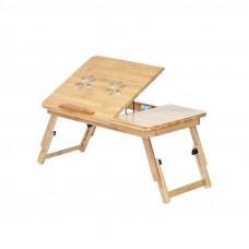 """Stolík na notebook Bambusový GOT72A1, 17"""""""