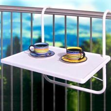 Závesný stôl na balkón B2, biely