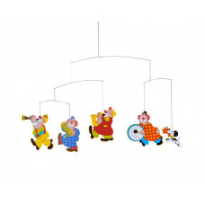 Circus Mobile 34 x 55cm