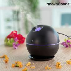 Mini zvlhčovač aróma difúzor InnovaGoods čierny IN1196