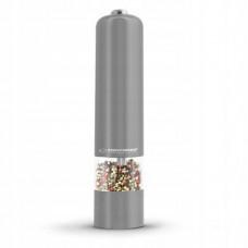 Elektrický mlynček na korenie s Led svetlom Espa, sivý