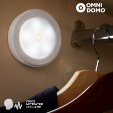 LED reflektor Voluma s hlasovým senzorom IN0203