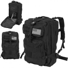Čierny batoh Military XL, 35L