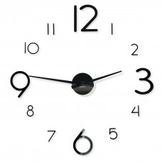 3D Nalepovacie hodiny DIY Admirable XXL Sweep z540do-1-1-x, 100-130cm