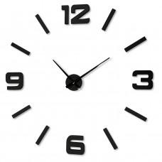 3D Nalepovacie hodiny DIY ADMIRABLE XL SWEEP z2540g EKO, 100-130cm