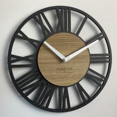 Nástenné hodiny Loft Piccolo Flex z219-1d-2-x , 30 cm