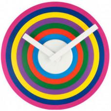 Nalepovacie hodiny Karlsson 5272 MULTI CIRCLE