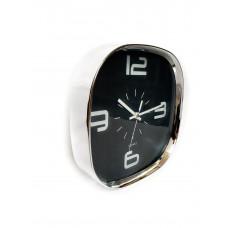 Nástenné hodiny Scandinavia 8092, čierne 29 cm