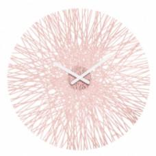 Nástenné hodiny Koziol SILK ružová, 45cm