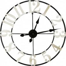 Designové nástenné hodiny White dial, 70cm