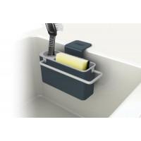 Stojanček na čistiace prostriedky Joseph Joseph Sink Aid ™ šedý