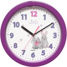 Nástenné hodiny JVD sweep HP612.D2, 25cm
