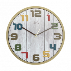 Nástenné hodiny JVD sweep HA51.1, 30cm