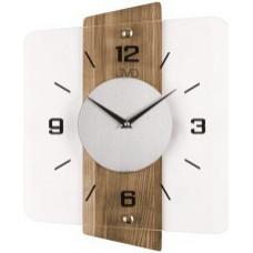Nástenné hodiny JVD Brush oak NS20131/78, 31x37 cm