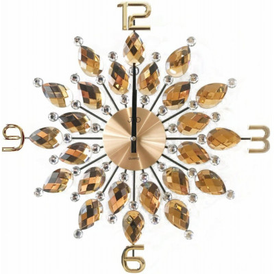 Crystal nástenné hodiny JVD HT54 49 cm