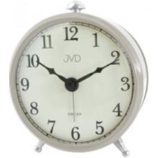 Ručičkový budík JVD SRP2509.4 sweep, 10cm