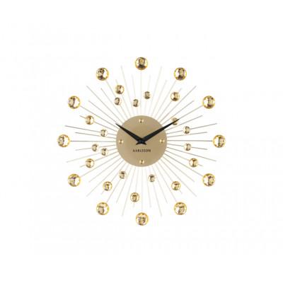 Designové nástenné hodiny 4860GD Karlsson 30cm
