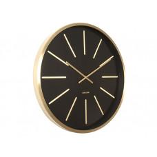 Nástenné hodiny Karlsson 5579BK Maxiemus 60cm