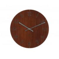 Nástenné hodiny 5619afk, Karlsson Wood Dark, 40cm