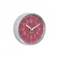 Dizajnové nástenné hodiny 5637RD Karlsson 22cm