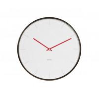 Dizajnové nástenné hodiny 5643WH Karlsson 40cm