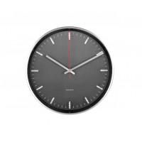 Dizajnové nástenné lentikulárne hodiny 5656BK Karlsson 30cm
