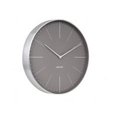 Dizajnové nástenné hodiny 5681GY Karlsson 38cm