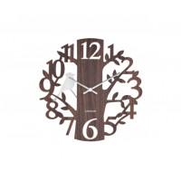 Kyvadlové nástenné hodiny Woodpecker 5690DW Karlsson 40cm