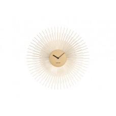 Nástenné hodiny ka5817gd Karlsson Peony 45cm