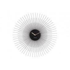 Nástenné hodiny ka5817bk Karlsson Peony 45cm