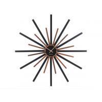 Nástenné hodiny ka5820 Karlsson Diva Black 60cm