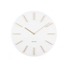 Nástenné hodiny KA5783WH Karlsson 40cm