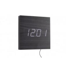 Dizajnové LED nástenné hodiny 5804BK Karlsson 20cm